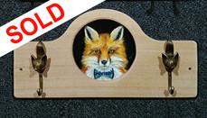 SOLD - Bow Tie Fox