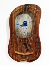 Blue Wren Lyre - $270
