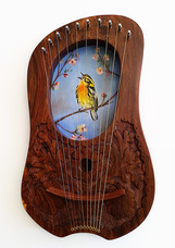 Prairie Warbler Lyre - $270