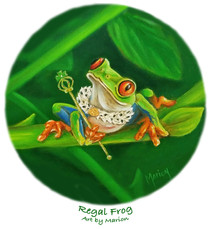 Regal Frog