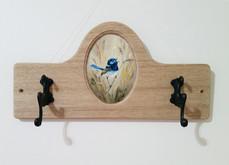 Blue Wren Coat Hooks - $280