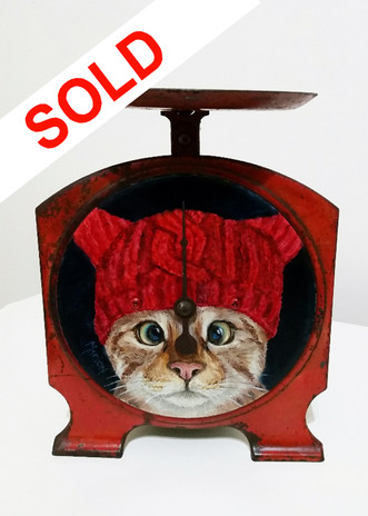 SOLD - Kriss-Kross-Kitty