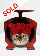 SOLD - Kriss-Kross-Kitty
