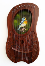 Pine Warbler Lyre - $270