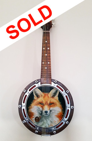 SOLD - Pipe Smoking FOX