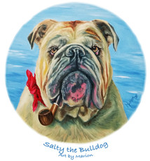 Salty the Bulldog