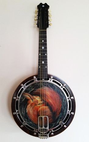 Sleeping Squirrel Banjo - $480
