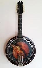 Sleeping Squirrel Banjo - $480