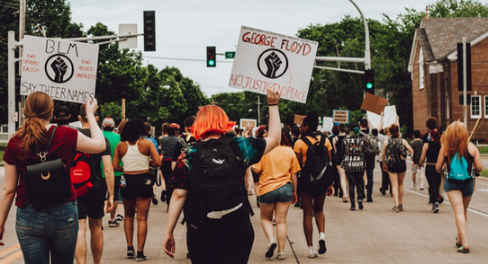 Marching Through the Streets of Downtown