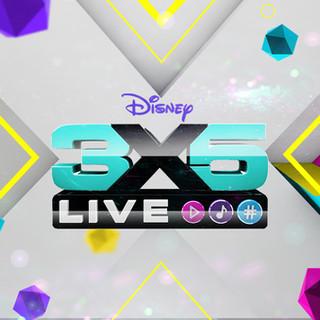 Disney 3x5 Live