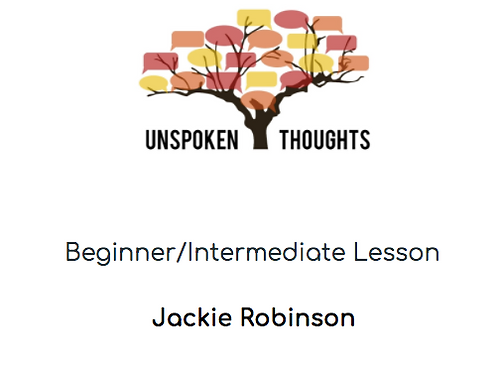 Jackie Robinson Lesson