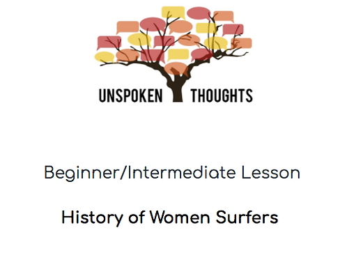 History of Women Surfers Lesson