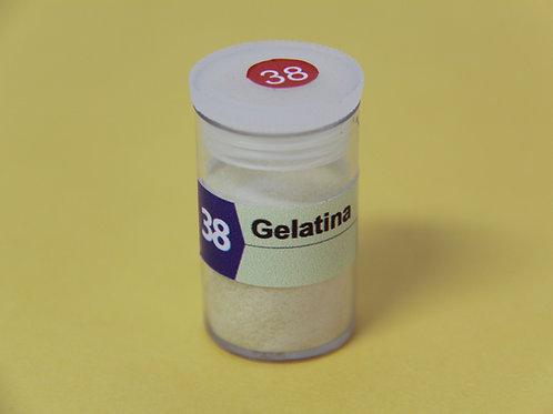 Gelatina em pó