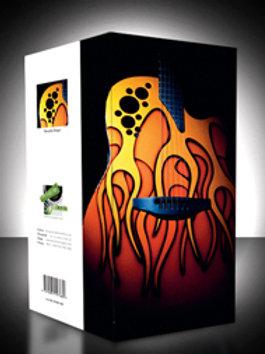 Ovation Orange Flame