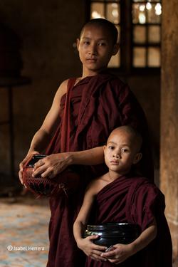 Yangon_Mönche
