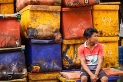 Yangon_Fischmarkt