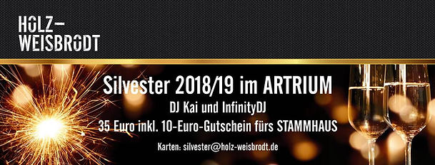 31.12.2018 Silvesterparty Holz-Weisbrodt