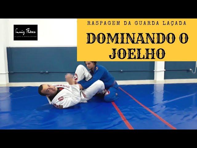raspagem da guarda laçada jiu-jitsu