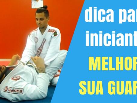 Como melhorar a minha guarda no jiu-jitsu
