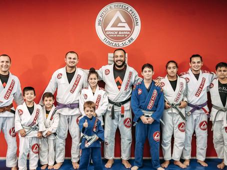 Crianças e a Graduação no jiu-jitsu