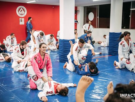Como melhorar minha guarda no jiu-jitsu
