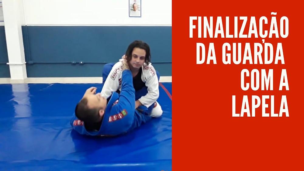 finalização da guarda fechada estrangulamento jiu-jitsu