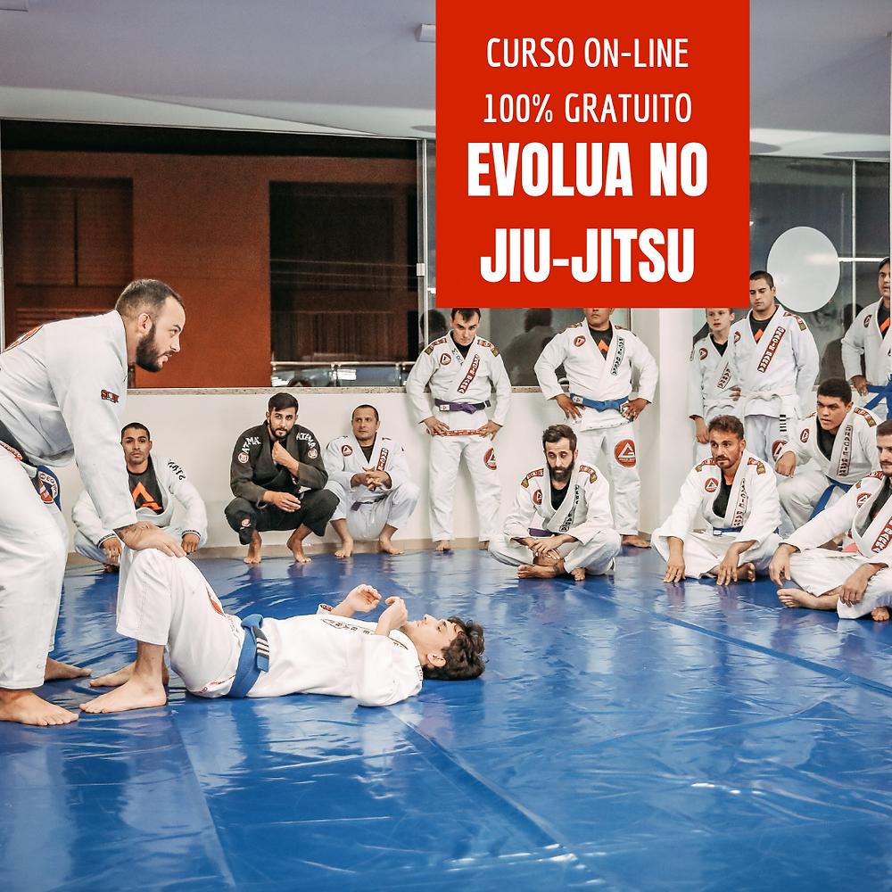 curso on-line gratuito de jiu-jitsu
