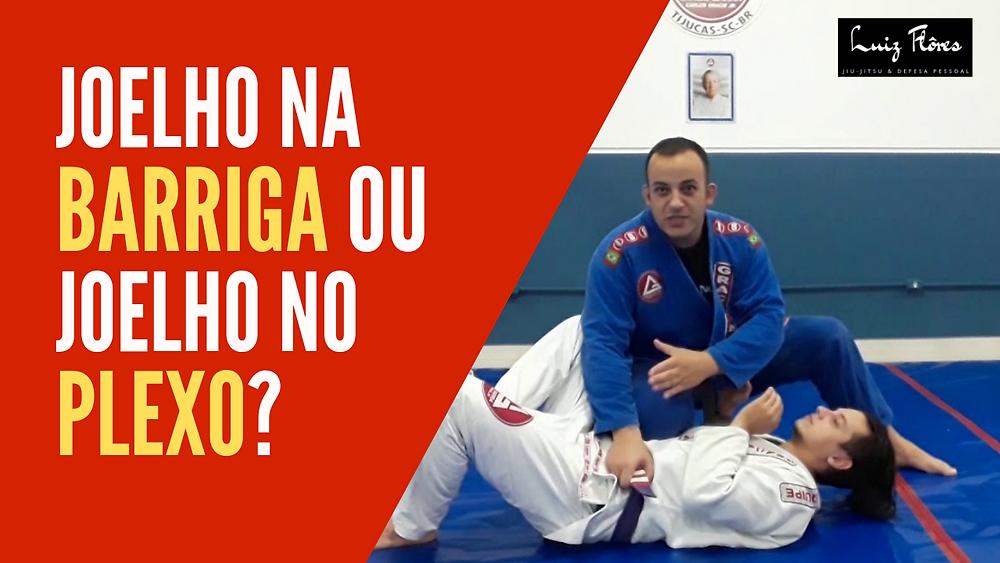 como fazer joelho na barriga no jiu-jitsu