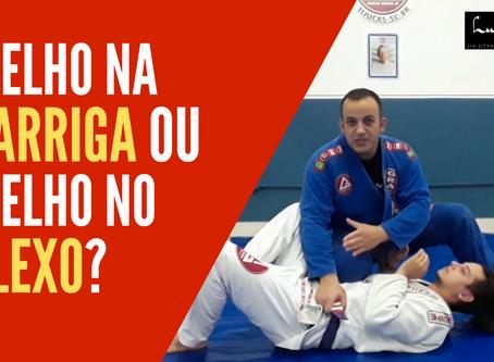 Como fazer o joelho na barriga no jiu-jitsu