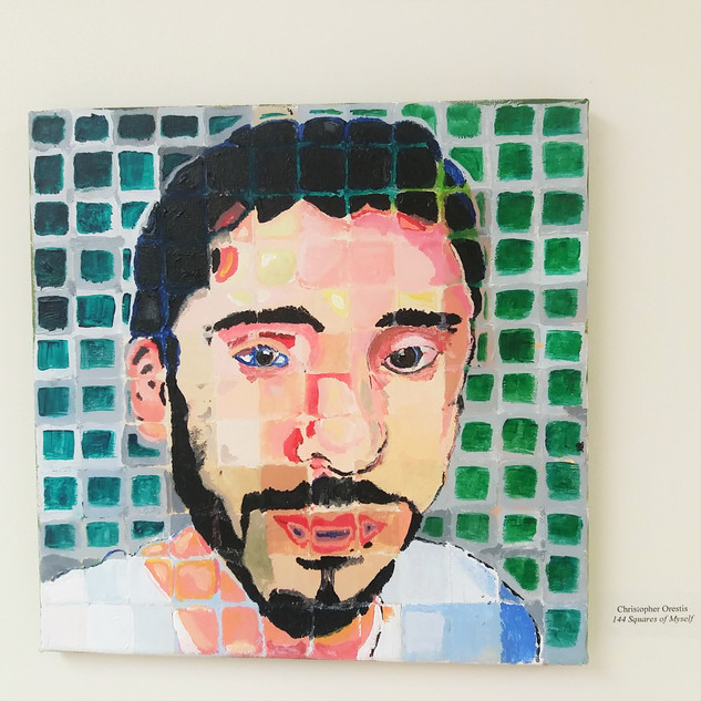 144 Squares of Myself - Christopher A. O