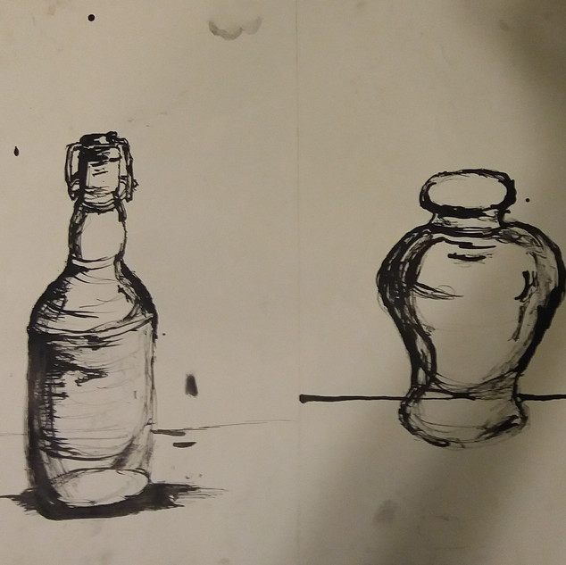 Ink and vase project