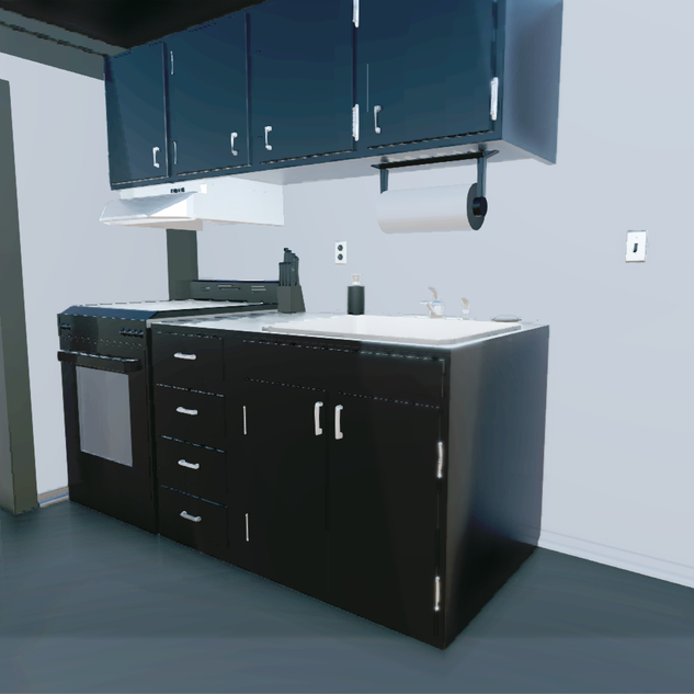 3D Model of my Kitchen #1