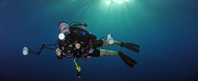 I'm an enthousiatic underwater photographer.
