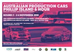 Australian Production Car Series 2018