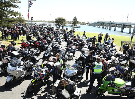 Barry Sheene Tribute Ride 2018