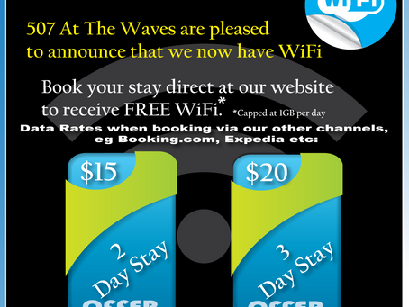Free WiFi at 507 At The Waves Phillip Island