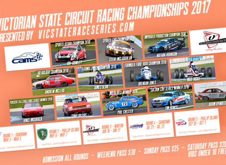 Victorian State Circuit Racing Championships 2017