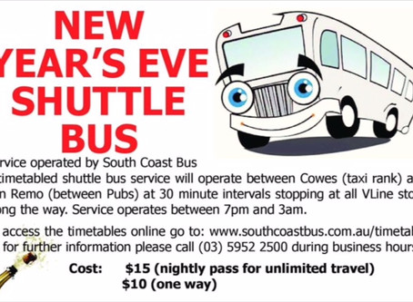 New Year's Eve Shuttle Bus