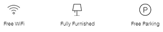 PIHA - ICONS  WIFI PARKING FURNISHED.PNG