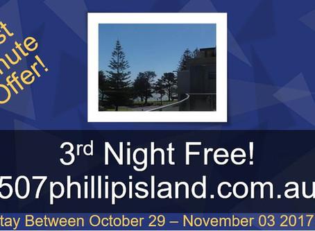 FREE Night at Phillip Island!