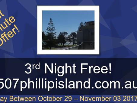 FREE Night at Phillip Island!