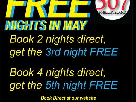 Free nights at 507 in May!