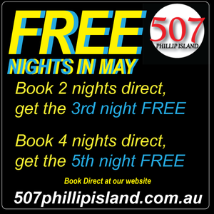 Free nights accommodation on Phillip Island