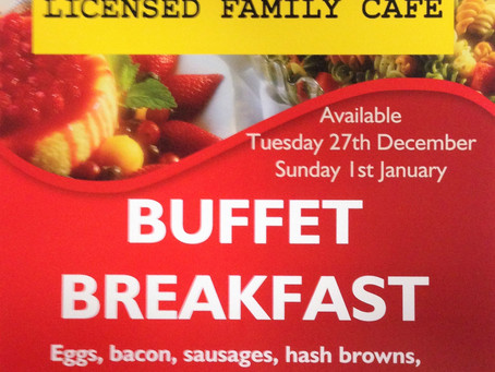 Breakfast Buffet at Cheeky Goose
