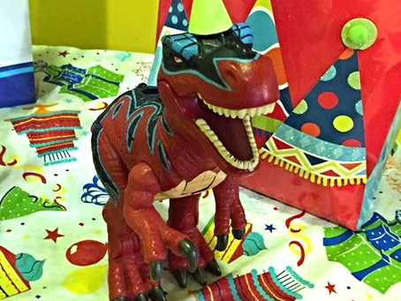 Another Dinosaur Party Success