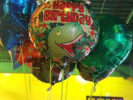 Dino-mite Birthday Party!