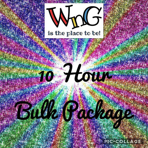 10 Hour Bulk Package