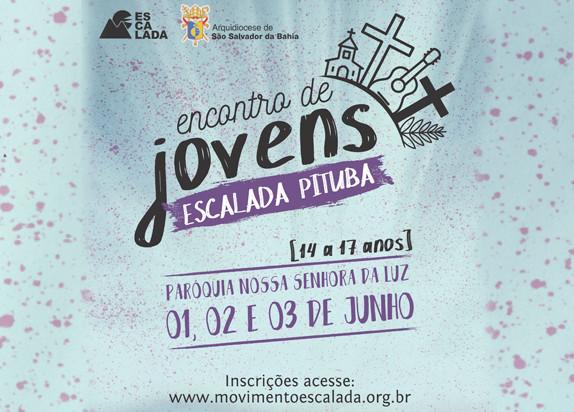 Encontro de Jovens Escalada em Salvador Regular PITUBA