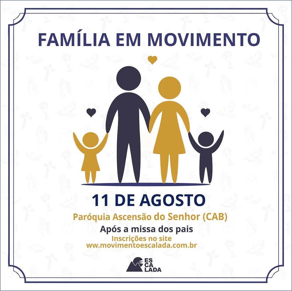 Família em Movimento - Inscrições