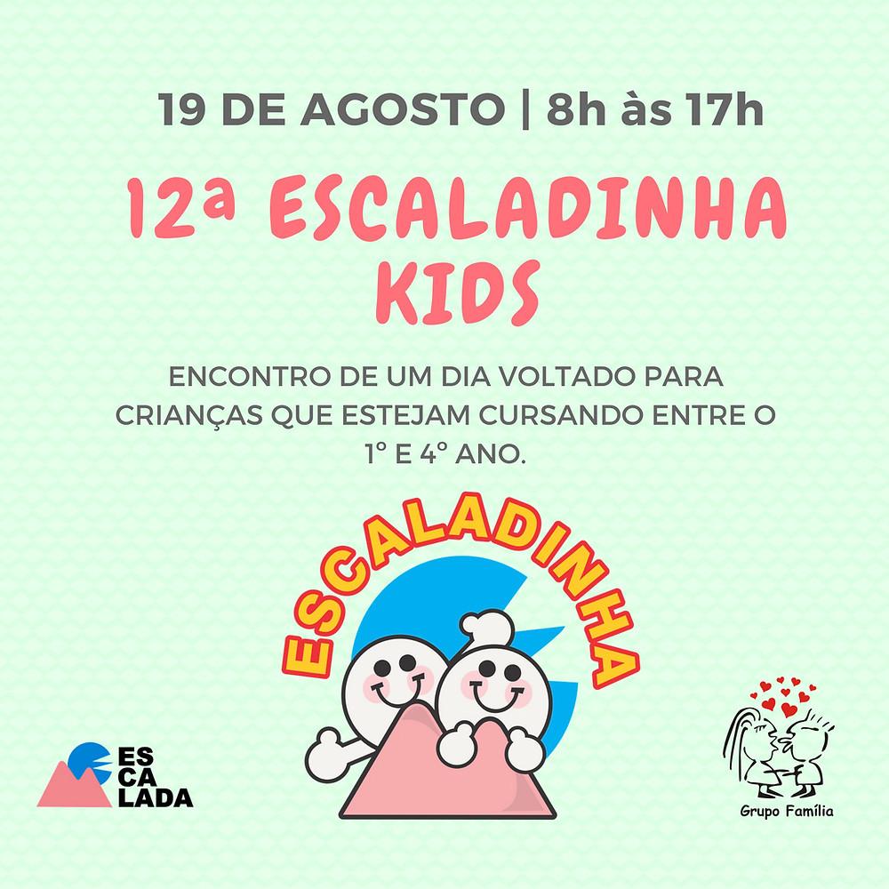 Inscrições 12a Escaladinha KIDS